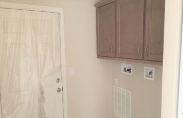 Utility Room with Washer & Dryer hook-up