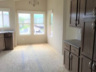 Kitchen with table space