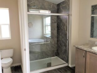 Master Bath Walk-In with Tile Shower