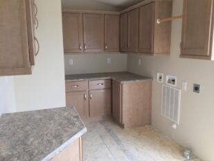 Utility Room with Washer & Dryer hook up includes Space for a Freezer