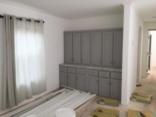 Dining Built-In Cabinets