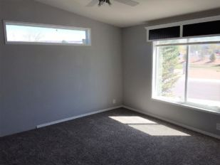 Master Bedroom with Transome Window