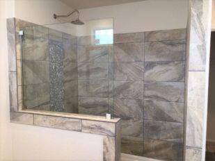 Master Bath Walk in Tile Shower